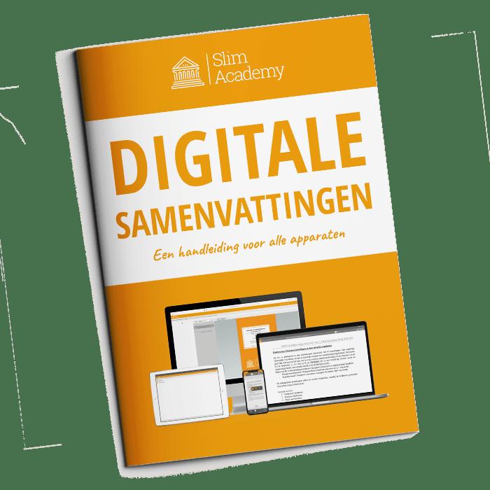 e-book digitale samenvattingen